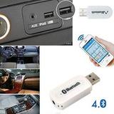 Receptor Bluetooth Usb 4.0 Para Auto Radio Equipo De Sonido