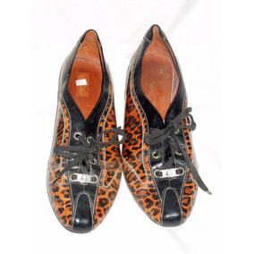 Zapatos Mujer Chiarini Cuero Nº 41 Poco Uso V Crespo
