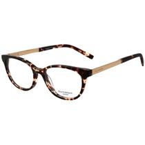 Ana Hickmann Ah 6236 - Óculos De Grau G21 Marrom Mesclado E
