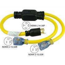 Cable Y Conector Para Planta Electrica
