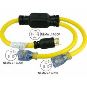 Enchufe Nema , Cable Y Conector Para Planta Electrica