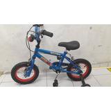 Bicicleta P/ Nene Rod 12 C/luz Y Sonido Depolicia O Auto