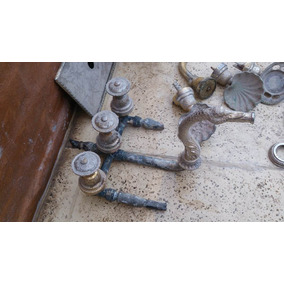 Griferia antigua bronce grifer a para ba o usado en for Griferia antigua bano