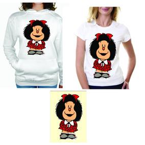 Paquete Mafalda Sudadera Playera Y Cojin Calidad Y Precio