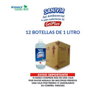Gel Antibacterial Con Sales Cuaternarias 12 L