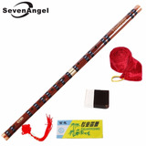 Flauta Chinesa Dizi De Bambu Em Duas Secoes Afinacao C (do)