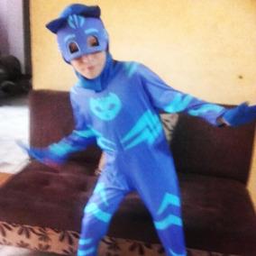 Disfraces Pj Mask (heroes En Pijamas) Azul, Verde, Rojo