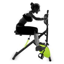 Perfect Crunch Bicicleta Magnetica Body Evolution Hidraulico
