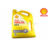 Aceite Shell Helix Hx5 15w-40 Por 4 Litros