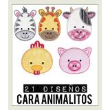 Diseños Matrices P/ Maquinas De Bordar Cara Animalitos