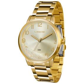 Relógio Lince Feminino Glam Lrg4379l C2kx Original + Nf