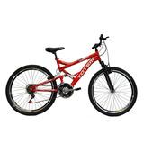 Bicicleta Aro 26 18v Dupla Suspensao Totem