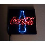 Anuncio Led Coca Cola Coleccionable Pieza Unica