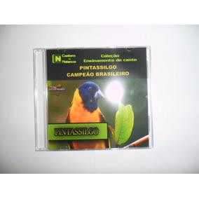 Cd - Canto Do Pintassilgo Campeão Brasileiro - Cds Pássaros