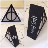 Luminária De Mesa Do Harry Potter- Relíquia Da Morte Led Mdf