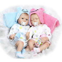 Bebês Reborn Gêmeos Pronta Entrega Fotos Reais