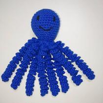 Pulpito Tejido A Crochet. Muñeco De Apego Para Bebés. Deco.