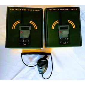 2 Dos Radio Baofeng Uv-5r + Plus Vhf/uhf + 1 Micro De Solapa