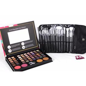 Maleta Kit De Maquiagem Completa Profissional Maquiador Make
