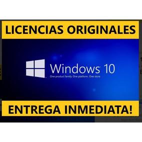 Licencia De Windows 10 Pro 1 Pc Original