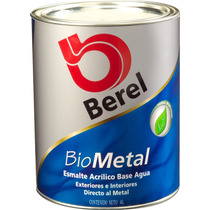 Berel Biometal Esmalte Ecológico Base Agua Sin Olor 4lt