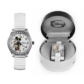 Reloj De Pulsera Para Dama Minnie Mouse Extensible Ajustable