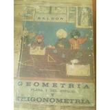 Baldor Geometria Y Trigonometria Segunda Edición Año 1967
