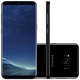 Samsung Galaxy S8 Plus G955 64gb Dual Chip Preto Ram 4gb