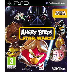 Jogo Novo Lacrado Angry Birds Star Wars Para Playstation 3