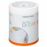 Dvd Virgen Memorex Printables 16x4.7gb X100u Belgrano!