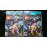 Lego The Hobbit Wii U Nuevo Sellado