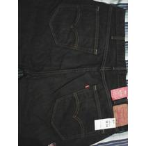 Vendo Pantalón Lewis Negro Talla 38x34 505 Original