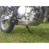 Cubre Carter Aluminio Yamaha Xtz 250 Lander En Ruta 3 Motos