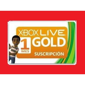 Xbox Live Gold Brasil Br, Usa - Cartão 1 Mês Leia O Anúncio!