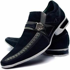Sapato Masculino Social Bico Longo Luxo Stilo Italiano Couro