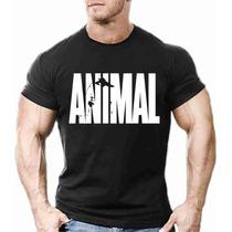 Camisa Camiseta Animal Masculina Musculação Academia Fitness