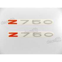 Adesivo Emblema Kawasaki Z750 Vermelho Z750a2