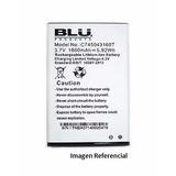 Bateria Pila Telefono Blu Advance 4.0 C745043160t 1600 Mah