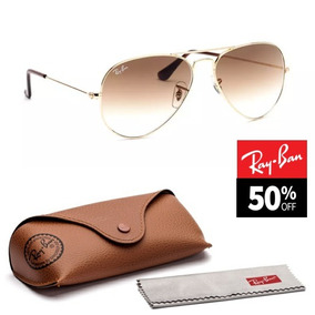 45b68bddf0bd7 Oculos Aviador Guess Unisex Marrom - Óculos De Sol no Mercado Livre ...