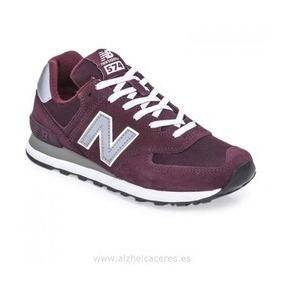 zapatillas new balance bordo