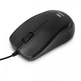 Mouse Usb 1000dpi C3tech Ms-25bk Preto
