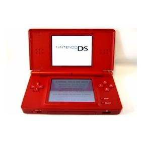 Console Nintendo Ds Lite Special Edition Mario Red Detalhe