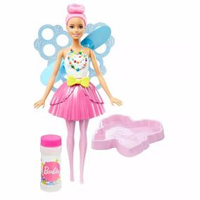 Dvm95 Barbie Dreamtopia - Fada Bolhas Mágicas - Mattel