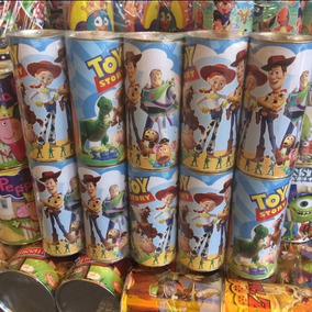 Alcancías Dulcero Bolo Fiesta Toy Story