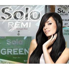 Extensiones De Cabello Solo Remi Solo Green 100% Humano, 22