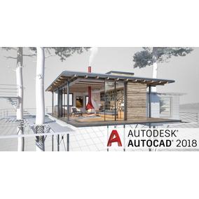 Autocad 2018 Español/ingles 64 Bits+guia+extras   Soporte