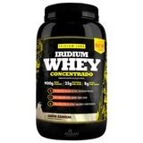 Whey Iridium Labs Concentrado 900g - 29g Proteína 6,4g Bcaa