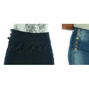 2 Saias Jeans Evangélica Com Frete/grátis