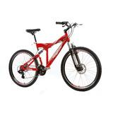 Bicicleta Track & Bikes Xk Full 5.0 Aro 26 21 Marchas - Verm