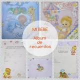 Album Para Bebe (fotos, Historias Y Recuerdos) Baby Shower